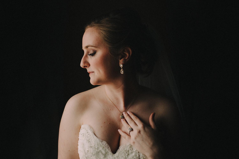 Glowing Bridal Portrait