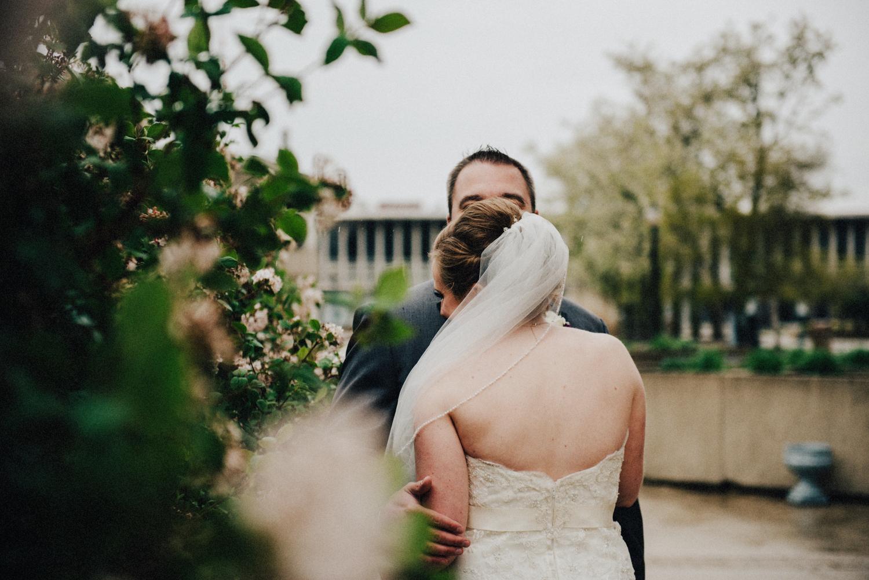 Rainy Day Wedding Love