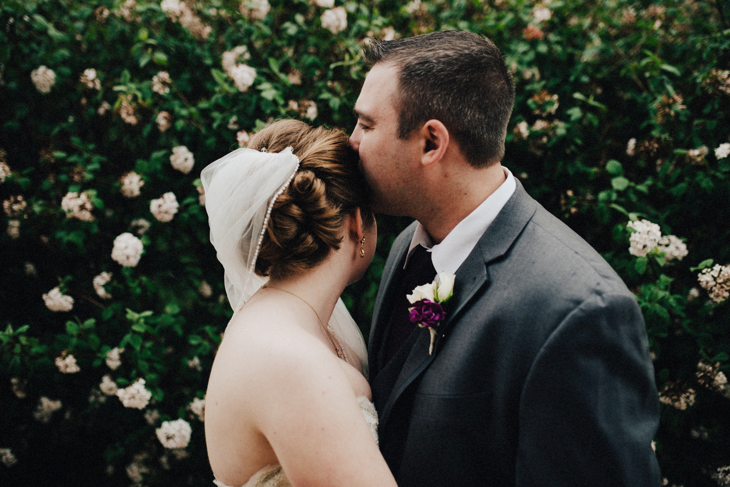 Floral Wedding Portraits in Springfield OH