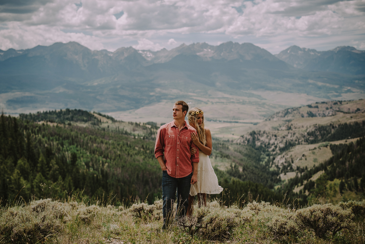 Wanderlust Colorado Rocky Mountain Engagement