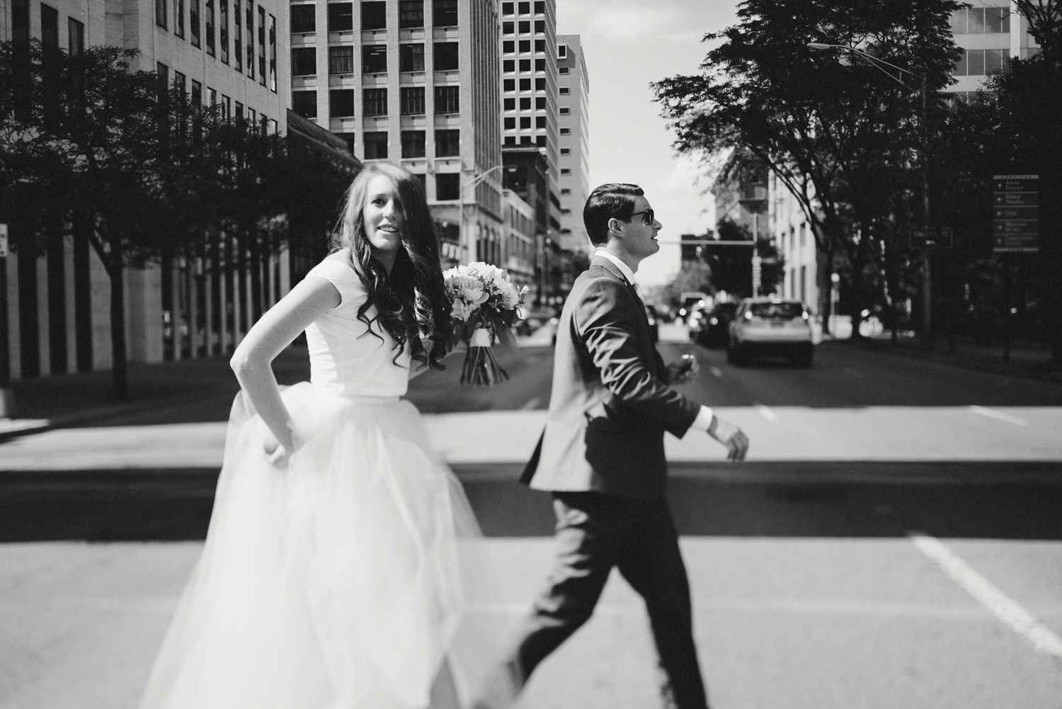Designer Downtown Columbus Ohio Wedding Photography