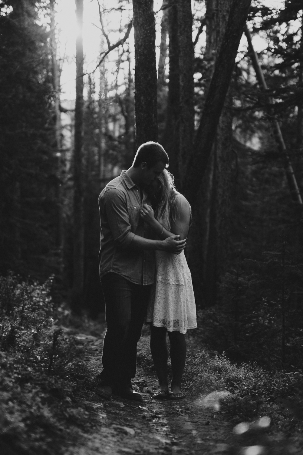 Free Spirit Colorado Rocky Mountain Engagement Photography