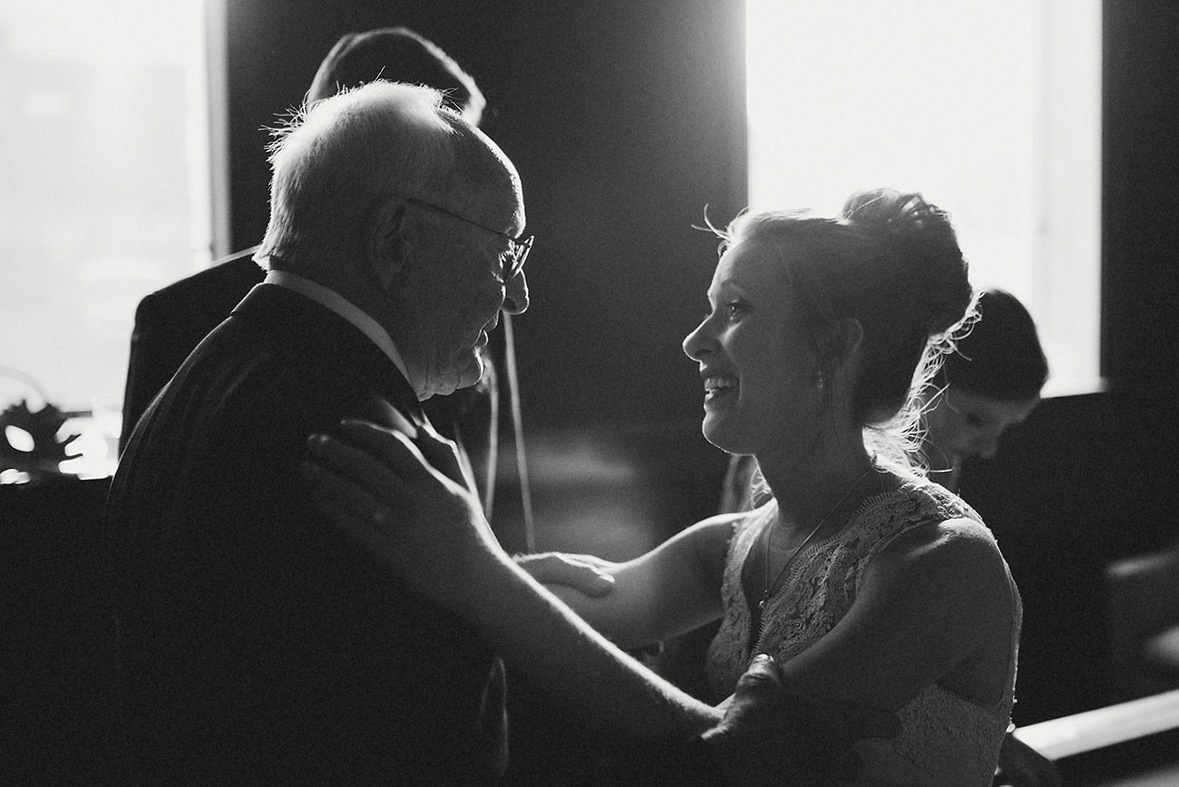 A Grandfather's Love - Strongwater Wedding - Columbus Ohio Wedding Photography