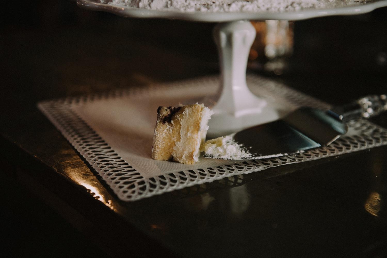 Cutting the Cake - Strongwater Wedding - Columbus Ohio Wedding Photography