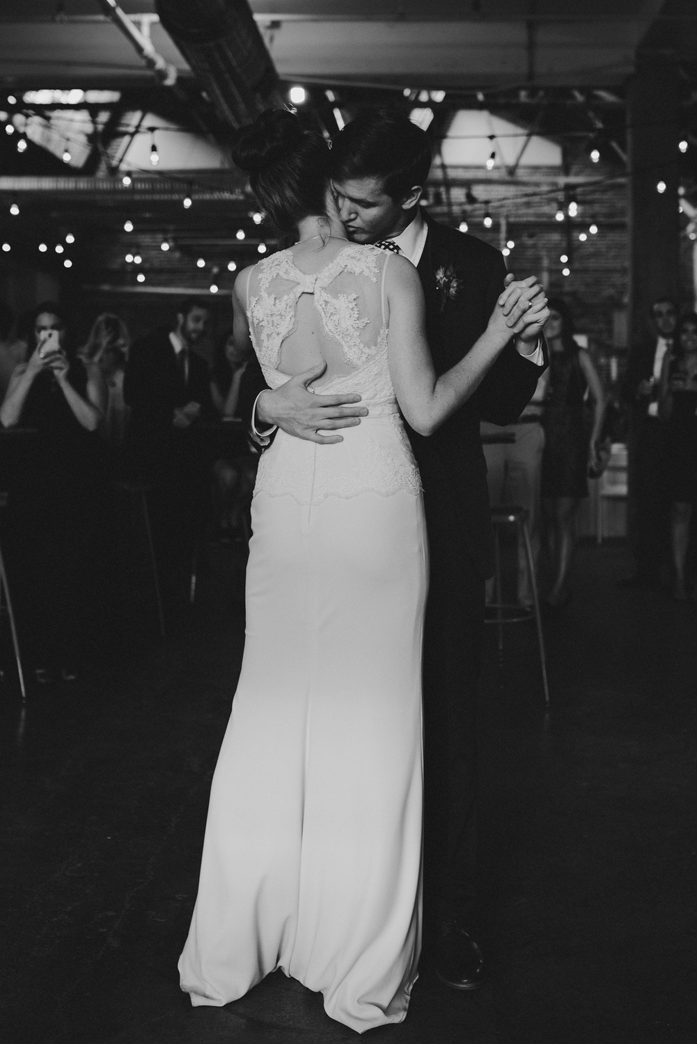 The First Dance - BHDLN Wedding Dress - Strongwater Wedding - Columbus Ohio Wedding Photography