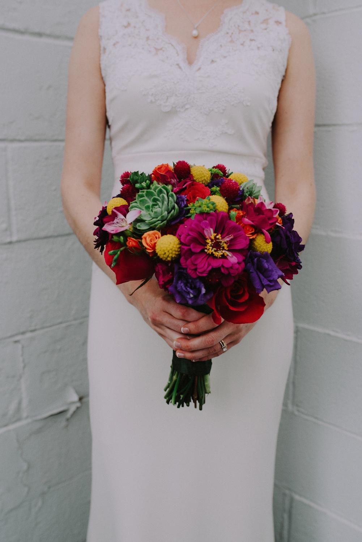 Floral - BHLDN Wedding Dress - Columbus Ohio Wedding Photography