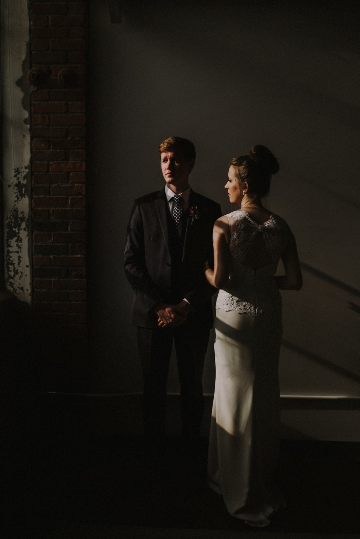 Bridal Portrait - BHLDN Dress - Strongwater Wedding - Columbus Ohio Wedding Photography