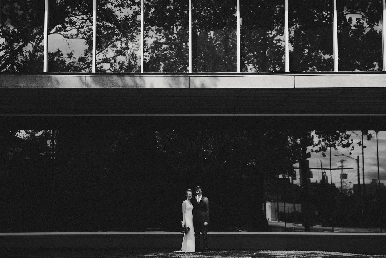 Bridal Portrait - BHLDN Dress - Columbus Ohio Wedding Photography