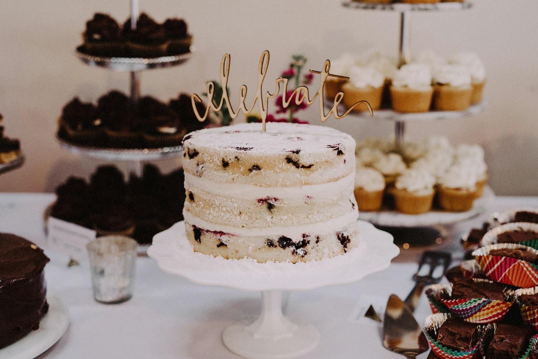 Wedding Cake - Strongwater Wedding - Columbus Ohio Wedding Photography