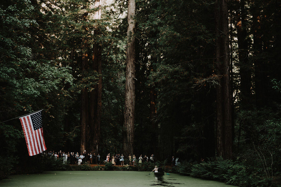 Bay Area Redwoods Wedding at The Island Farm