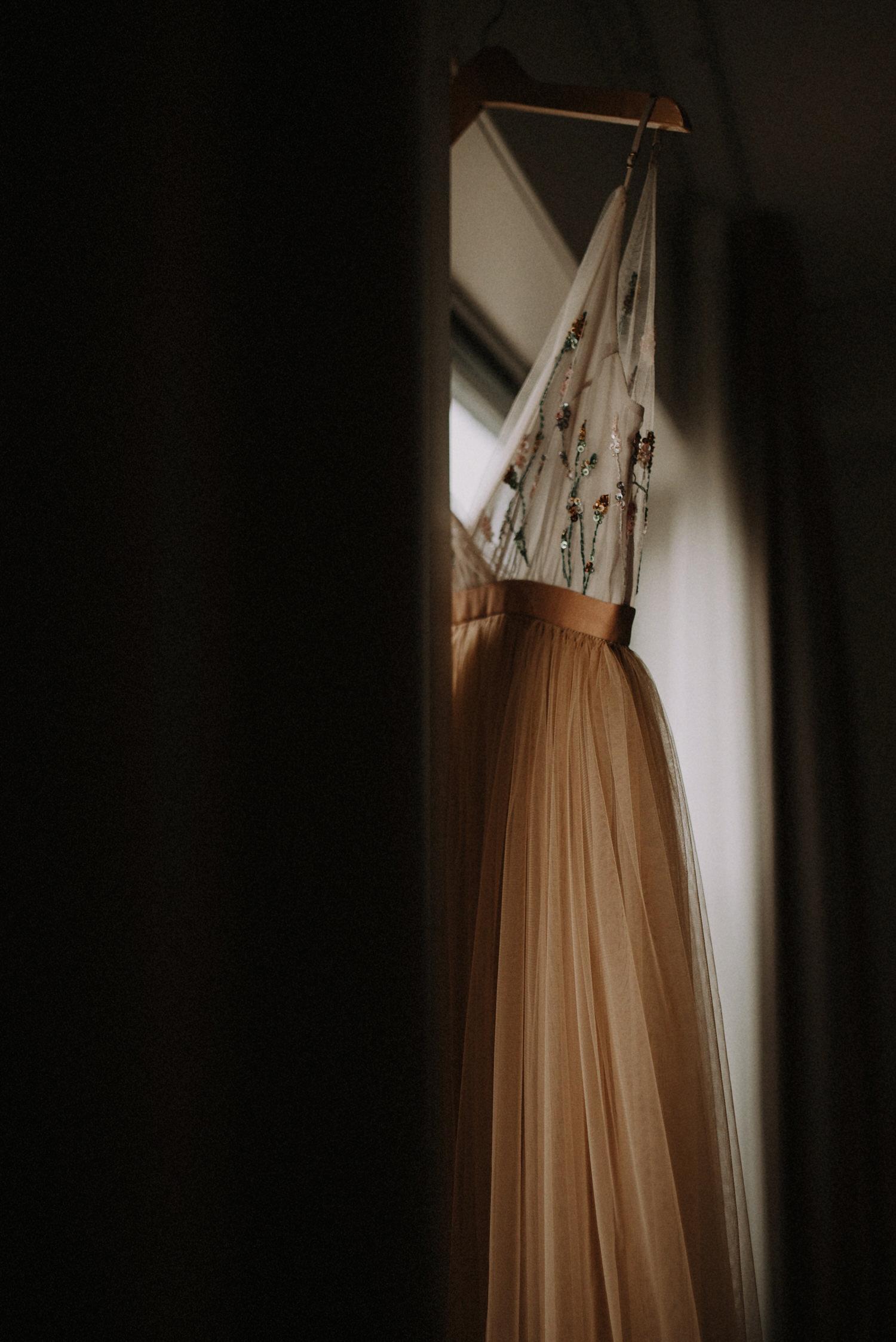 Iceland Elopement / Sumarokova Atelier Dress / Fosshotel Núpar