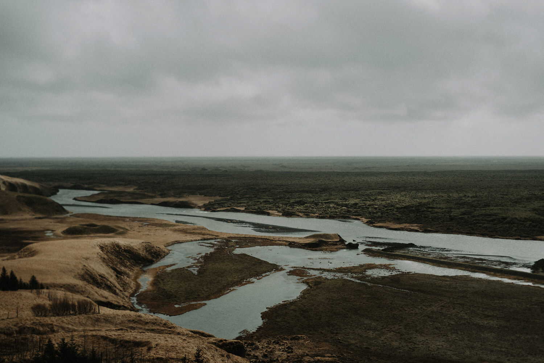 Iceland Elopement / Fjaðrárgljúfur Canyon