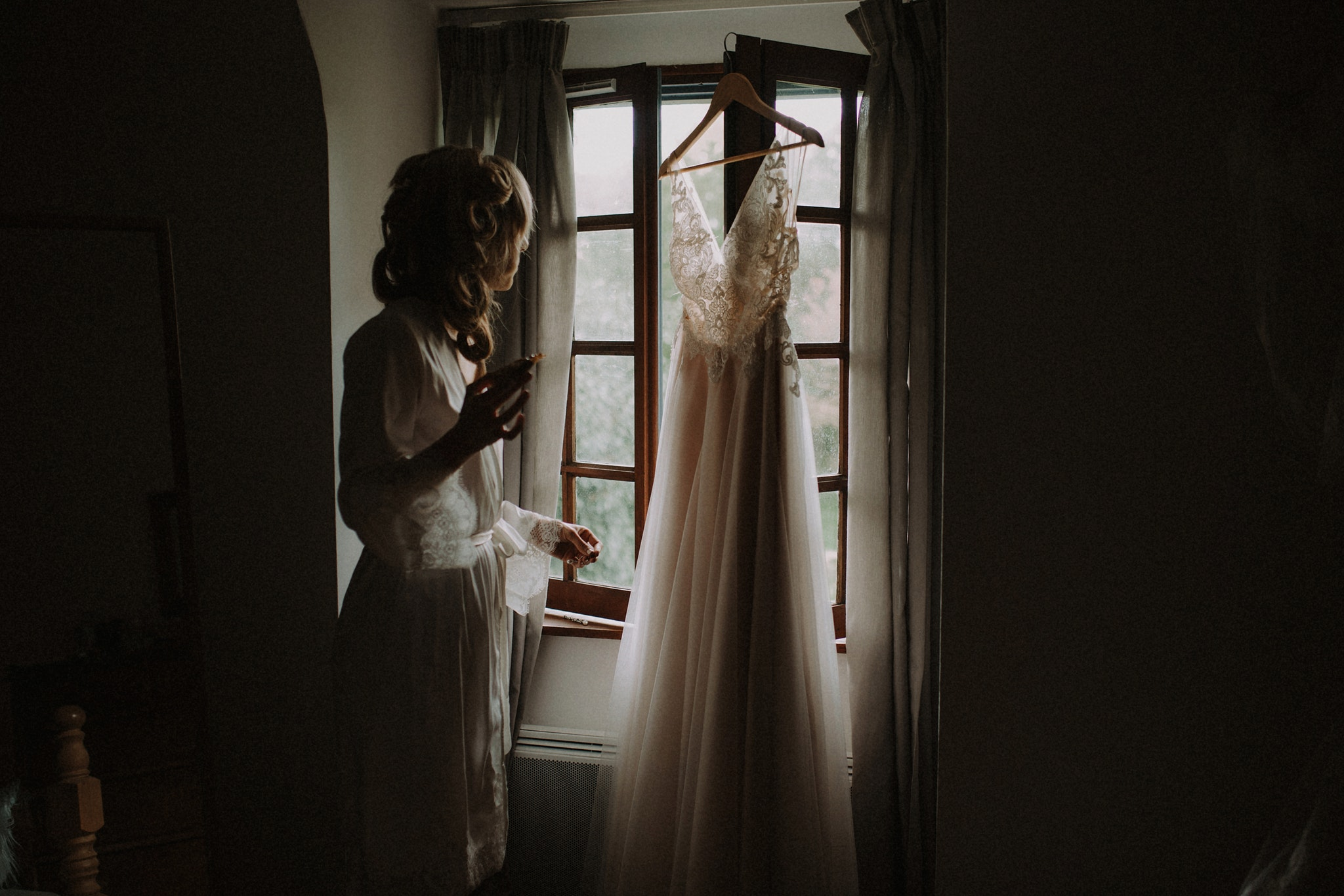 France Elopement Getting Ready