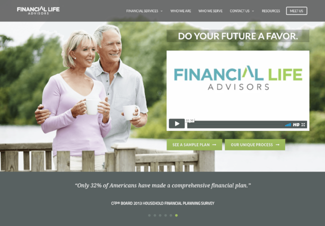 FINANCIAL LIFE ADVISORS  - Financial Life Advisors was spending an adverse amount of time explaining their complex financial services to the wrong prospects costing them thousands per month.Clearpath transformed their messaging and online sales funnel.  Then, with highly targeted traffic from two channels and a qualified lead scoring process in place, they now receive the exact customers they want to do business.  FLA has become the Fastest Growing Fee-Only Financial Planning firm in San Antonio.