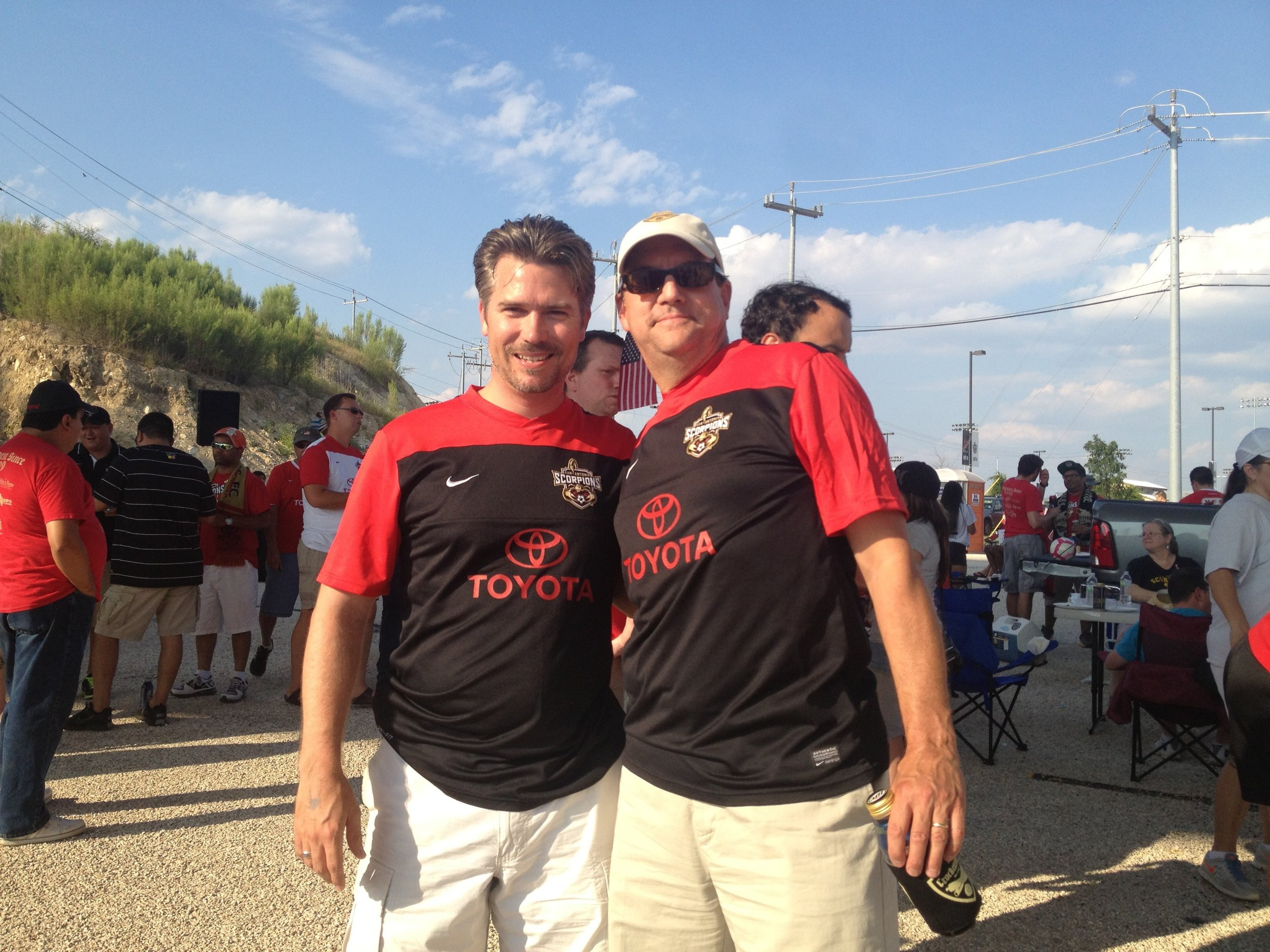 Tailgating at SA Scorpions FC Match