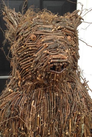 """""""Root Bear"""" (Detail)"""
