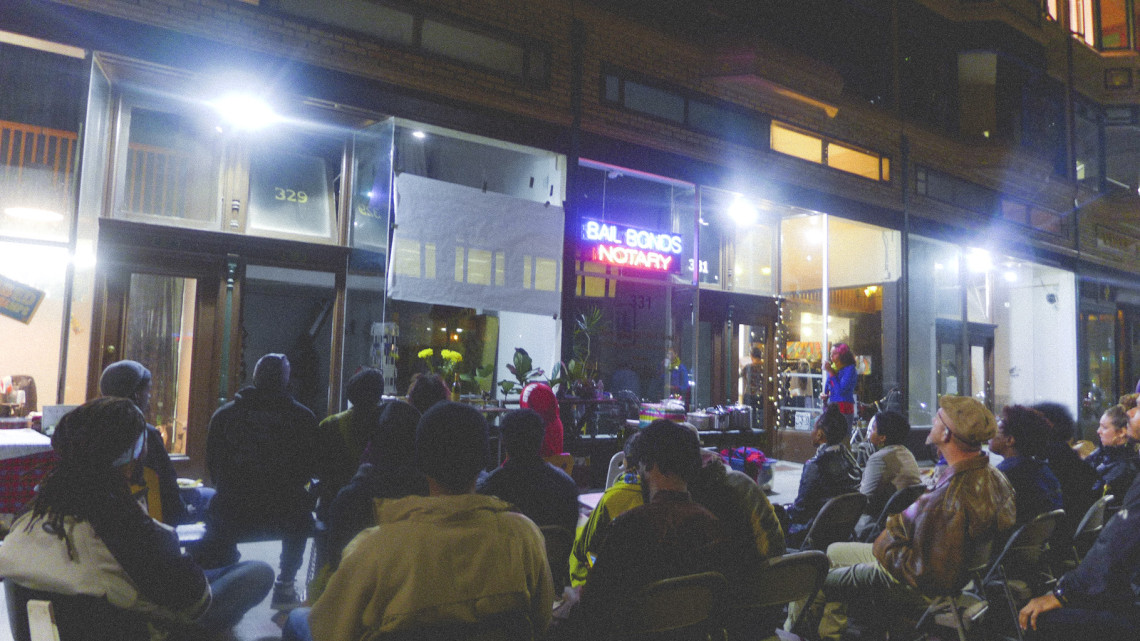 A Blackbuster screening in Oakland in November 2015.
