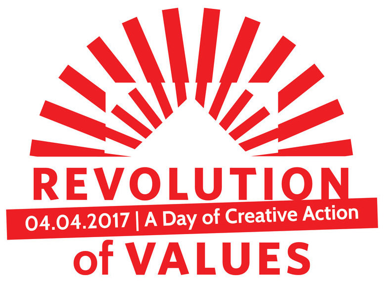 Learn more about #RevolutionOfValues here