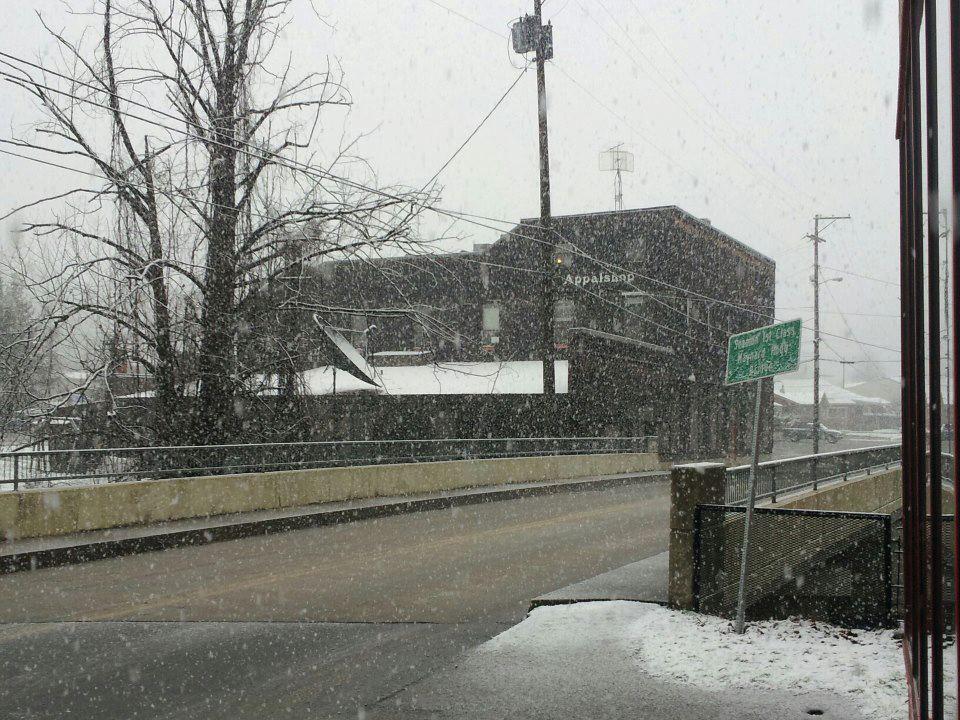 The Appalshop, in Letcher County, Kentucky. (Photo courtesy of Appalshop)