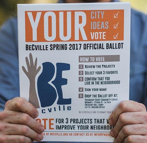 Part 3: BeCville: Arts-based Participatory Budgeting