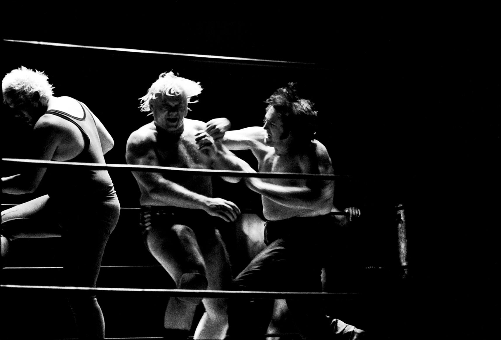 Old school wrestling
