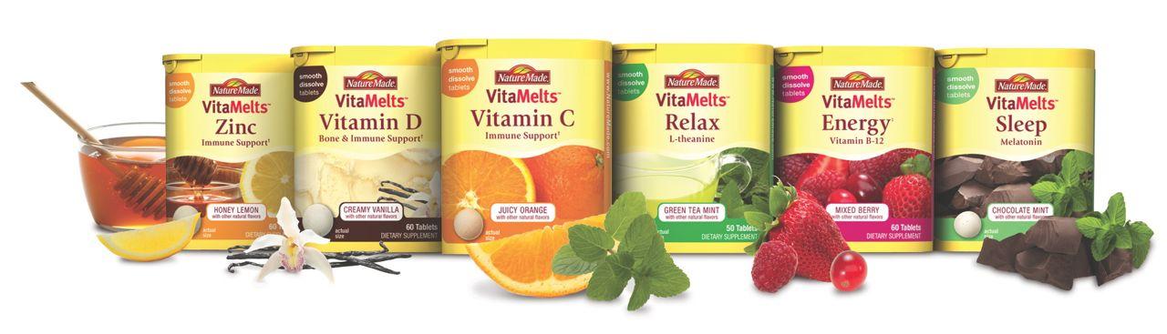 NatureMade VitaMelt's Product Line