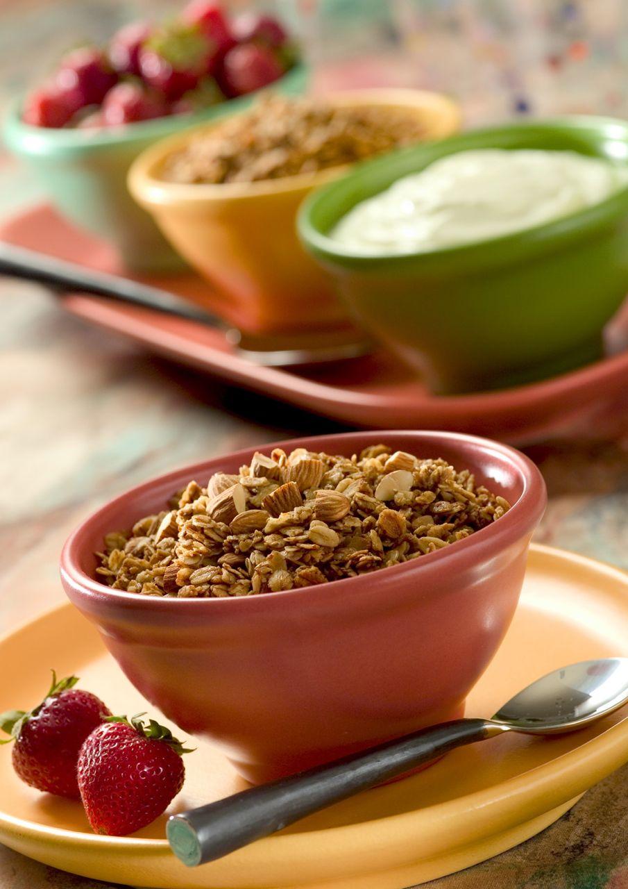 Granola Cereal, Fitness Magazine