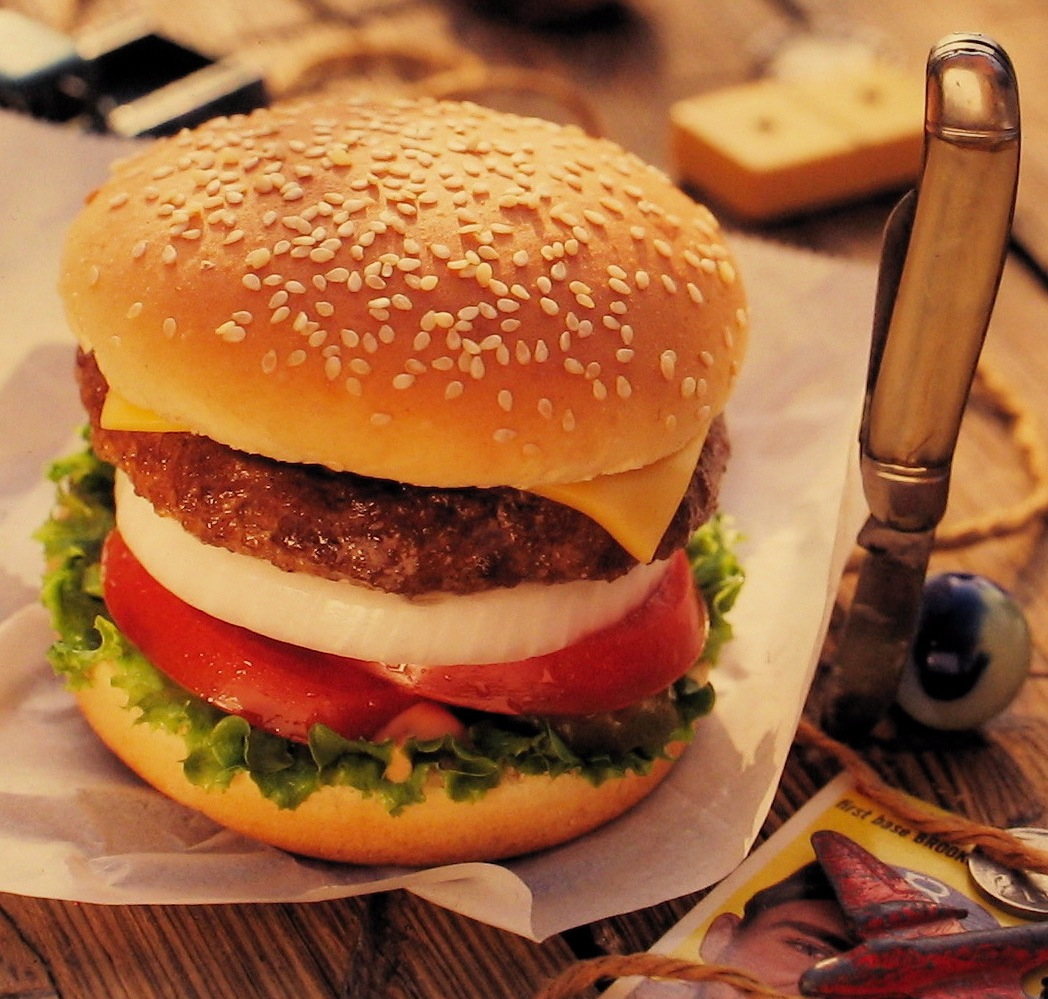 Classic Hamburger with Cheese L.A. Times