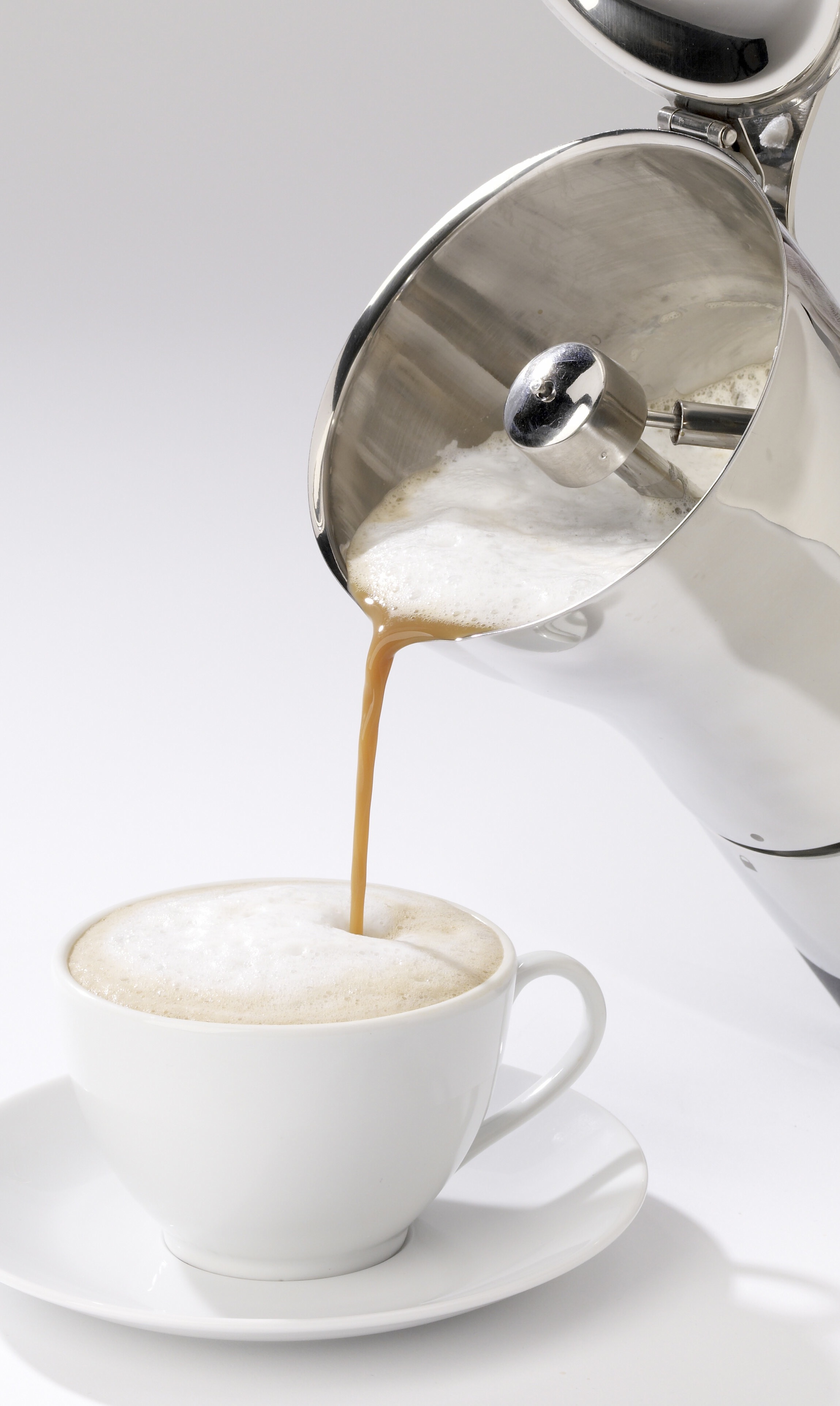 Bialetti Moka Coffee Pot Pour