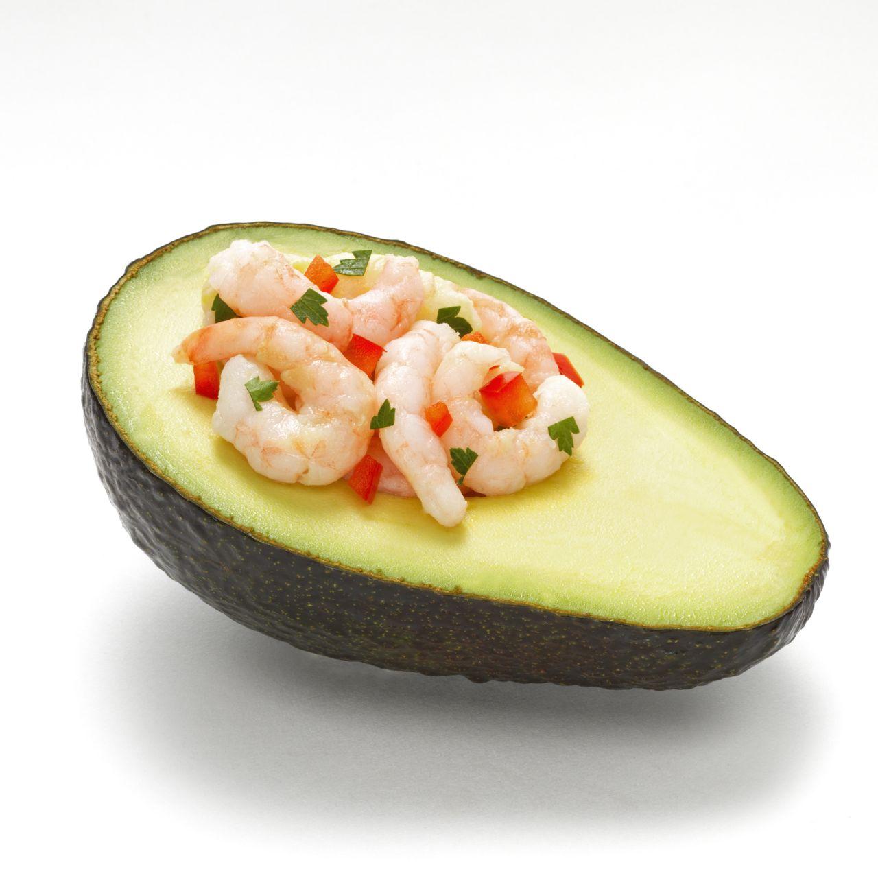 Avocado and Shrimp