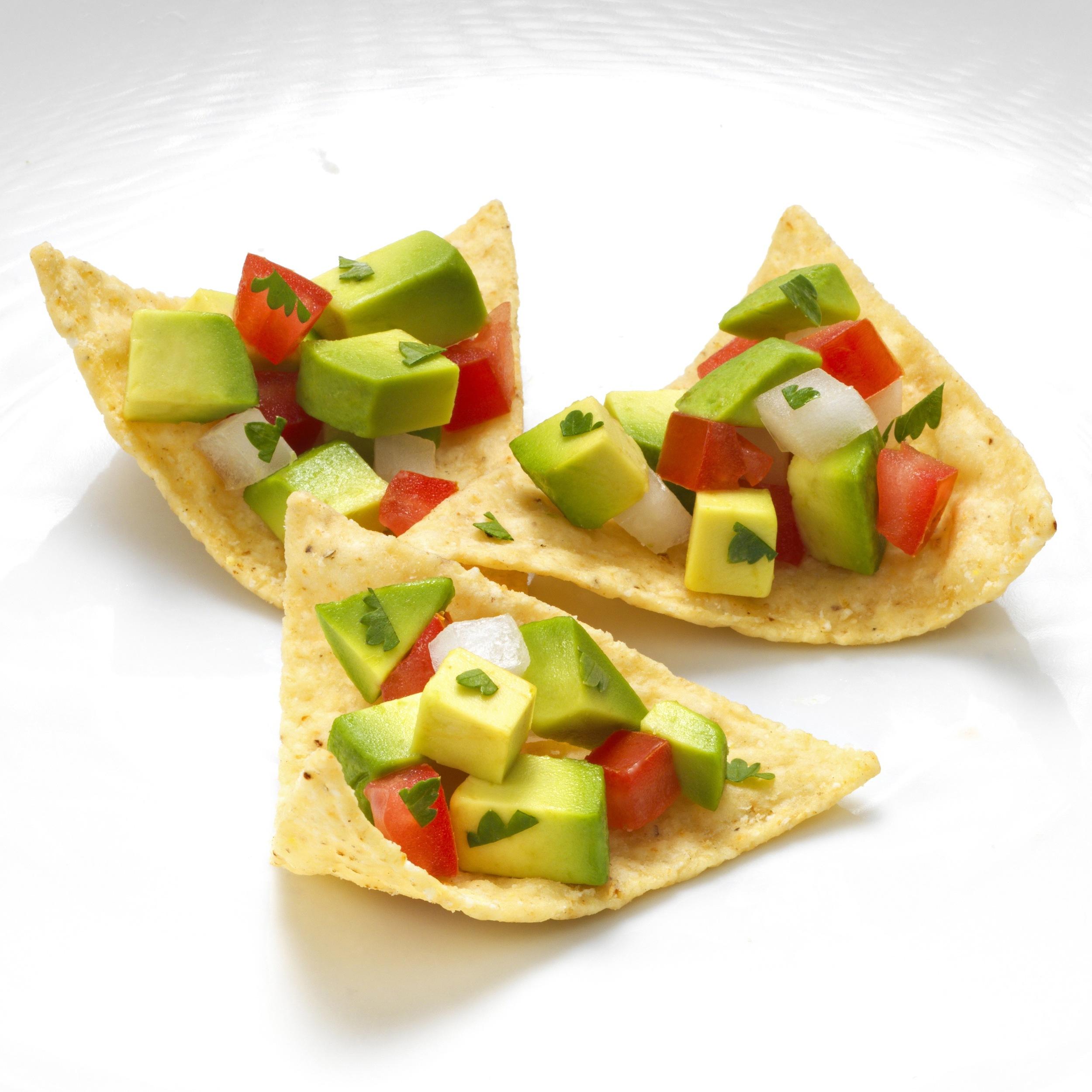 Avocado Salsa Chips