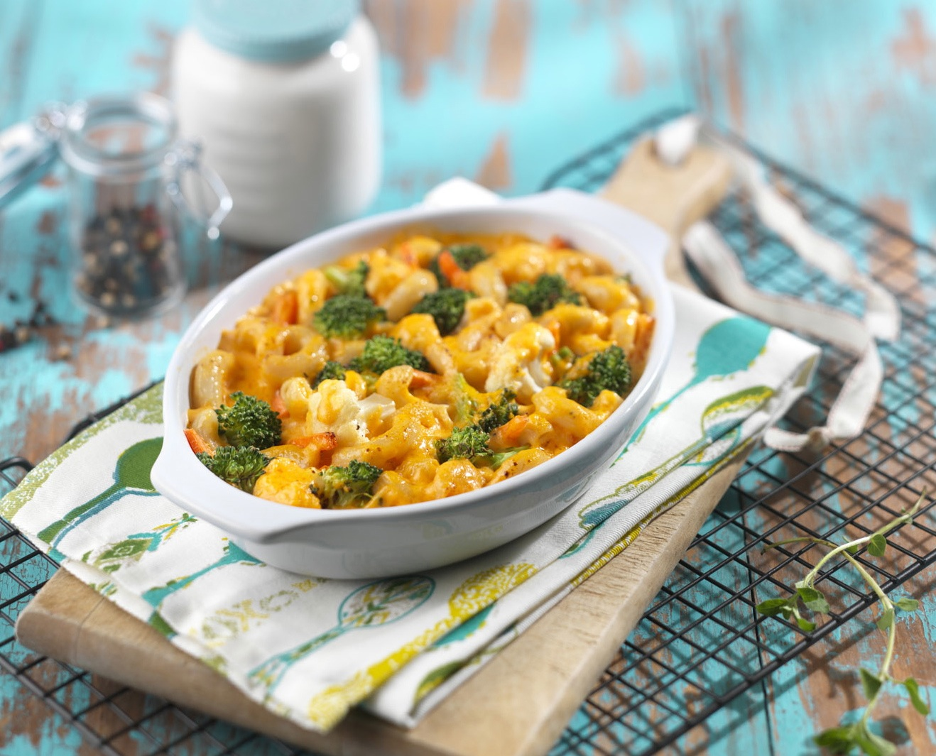 Mac & Cheese with Vegetables