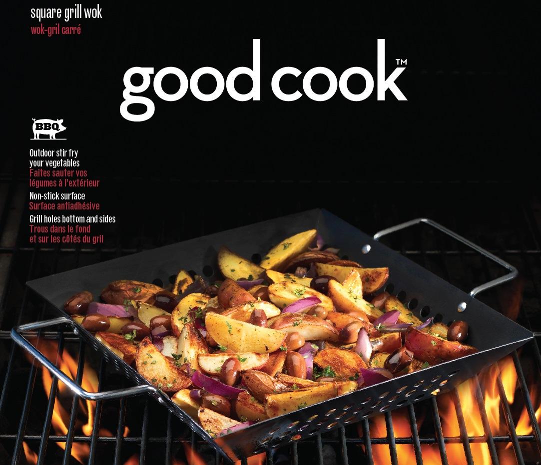 Good Cook Outdoor BBQ Stir Fry Vegetable Basket