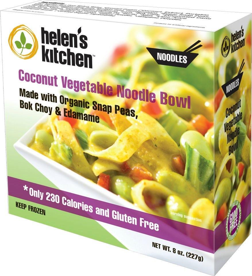 Coconut Vegetable Noodle Bowl Helen's Kitchen