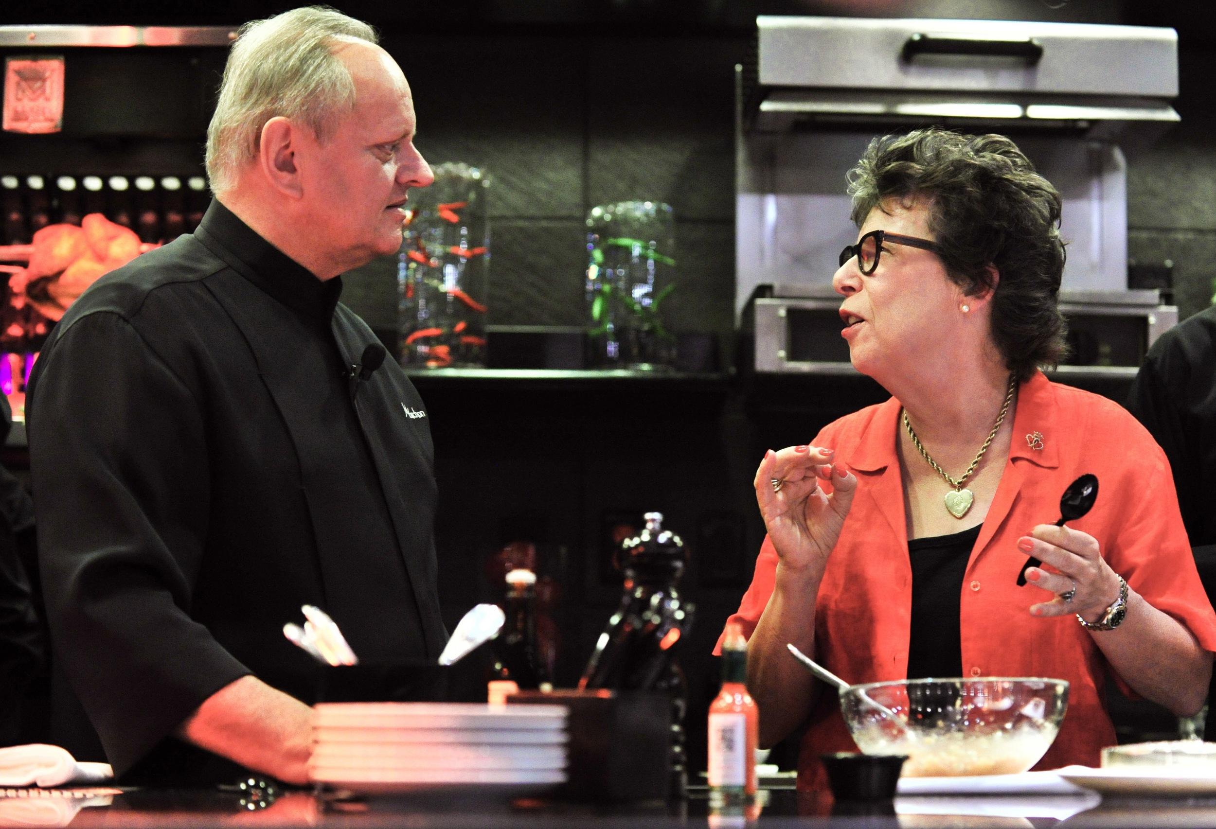 Alice M. Hart & Chef Joel Robuchon