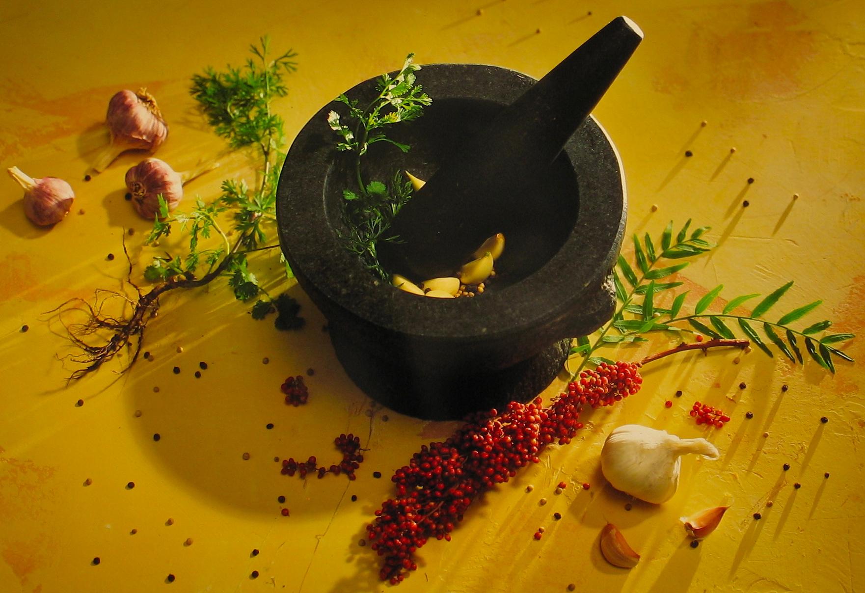 Thai Mortor Garlic