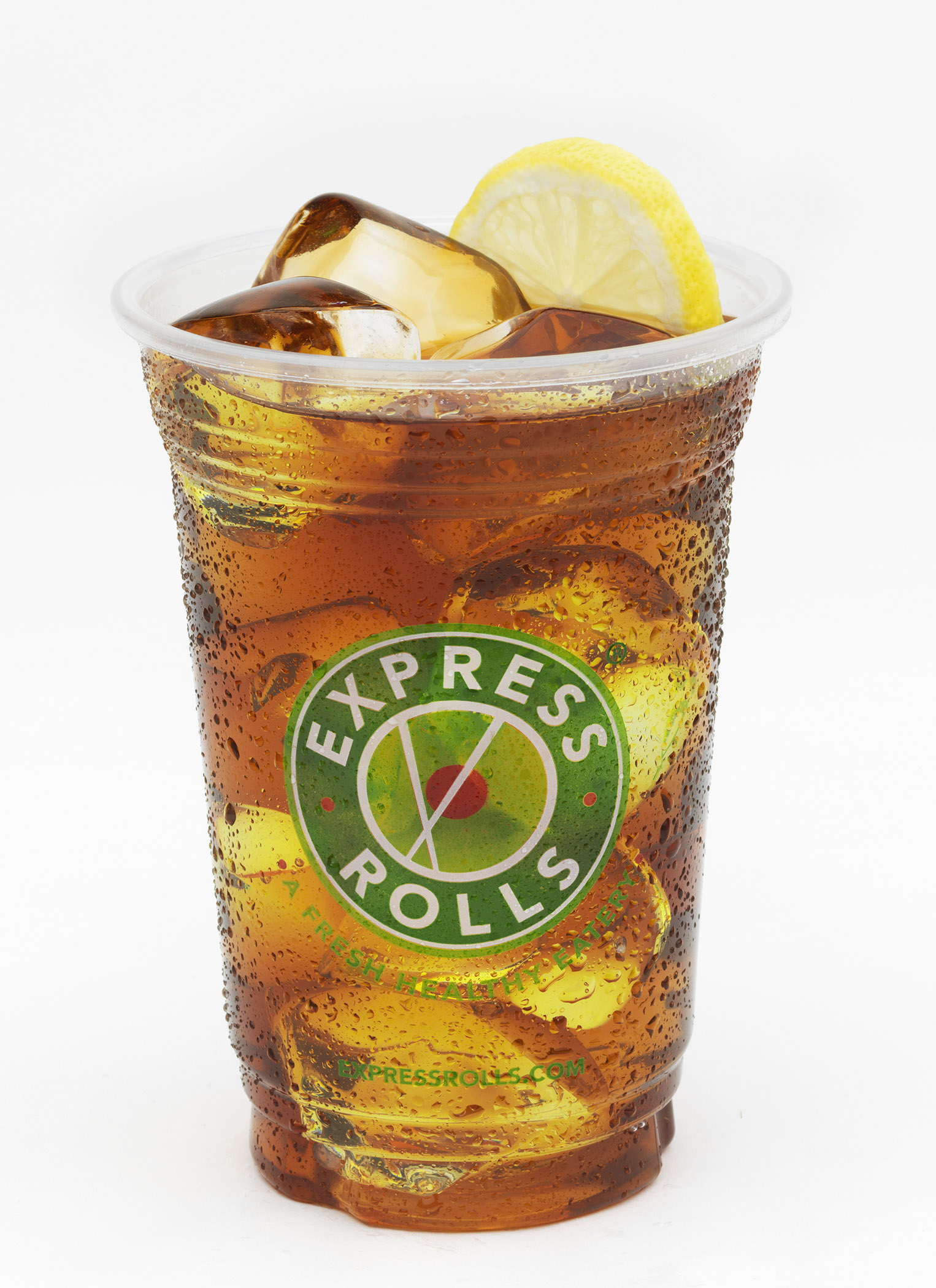Iced Tea with Lemon Expressrolls.com