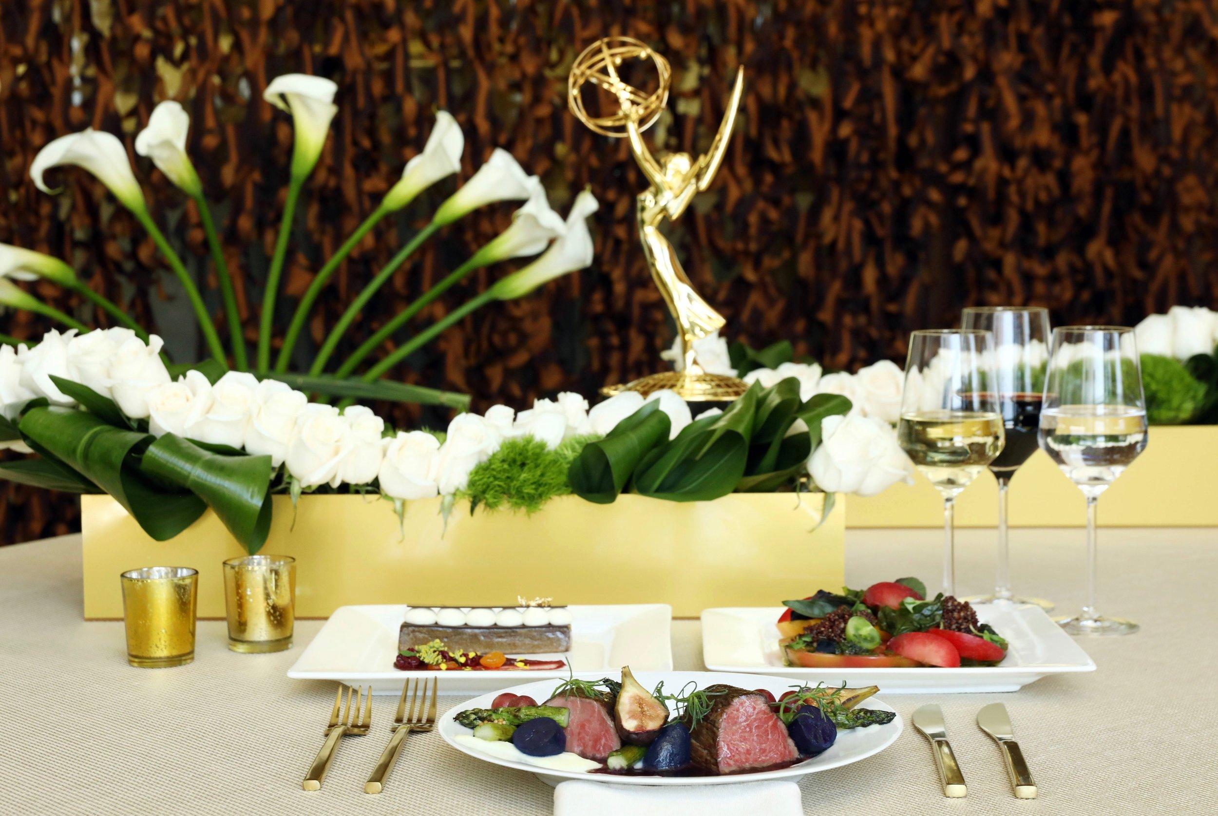 69th Primetime Emmy Awards Governer's Bal Menu.