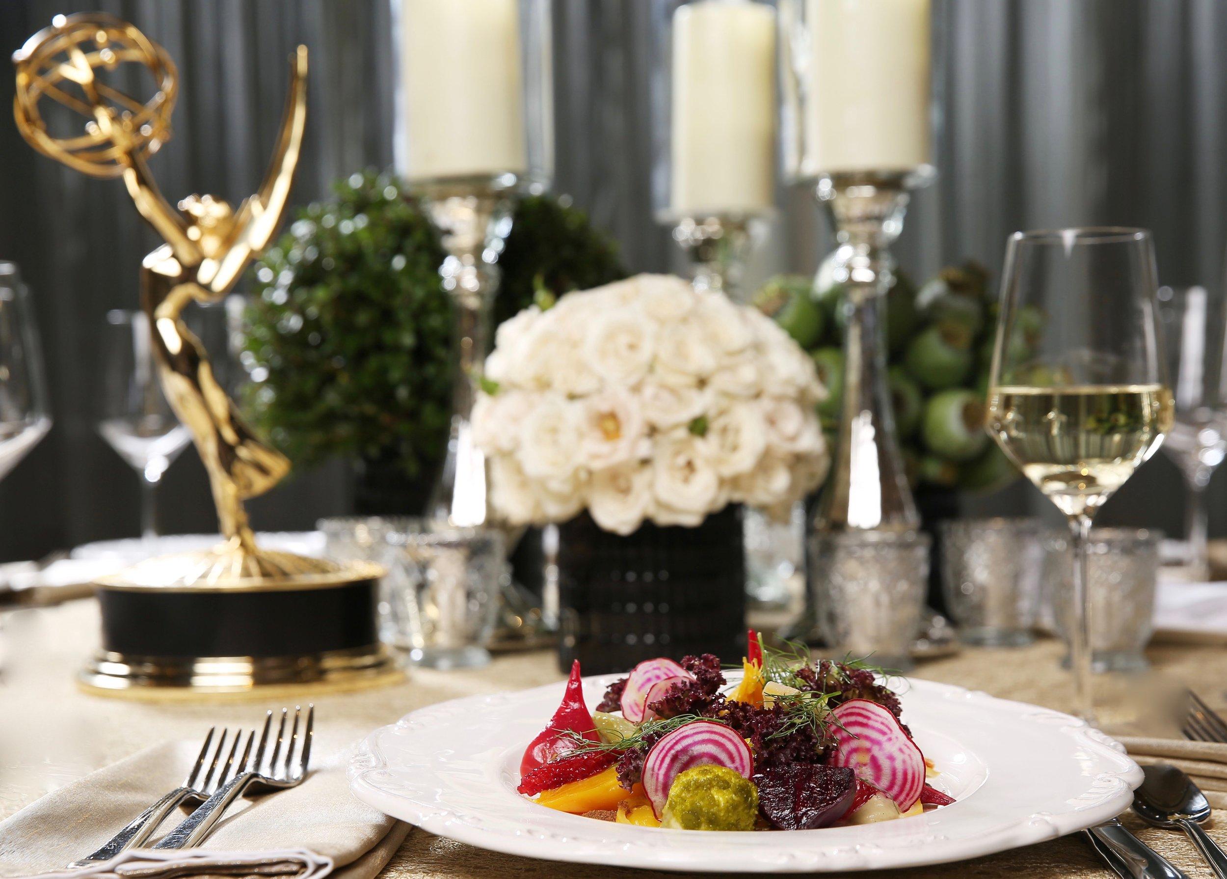 68th Primetime Emmy Awards Governor's Ball Menu