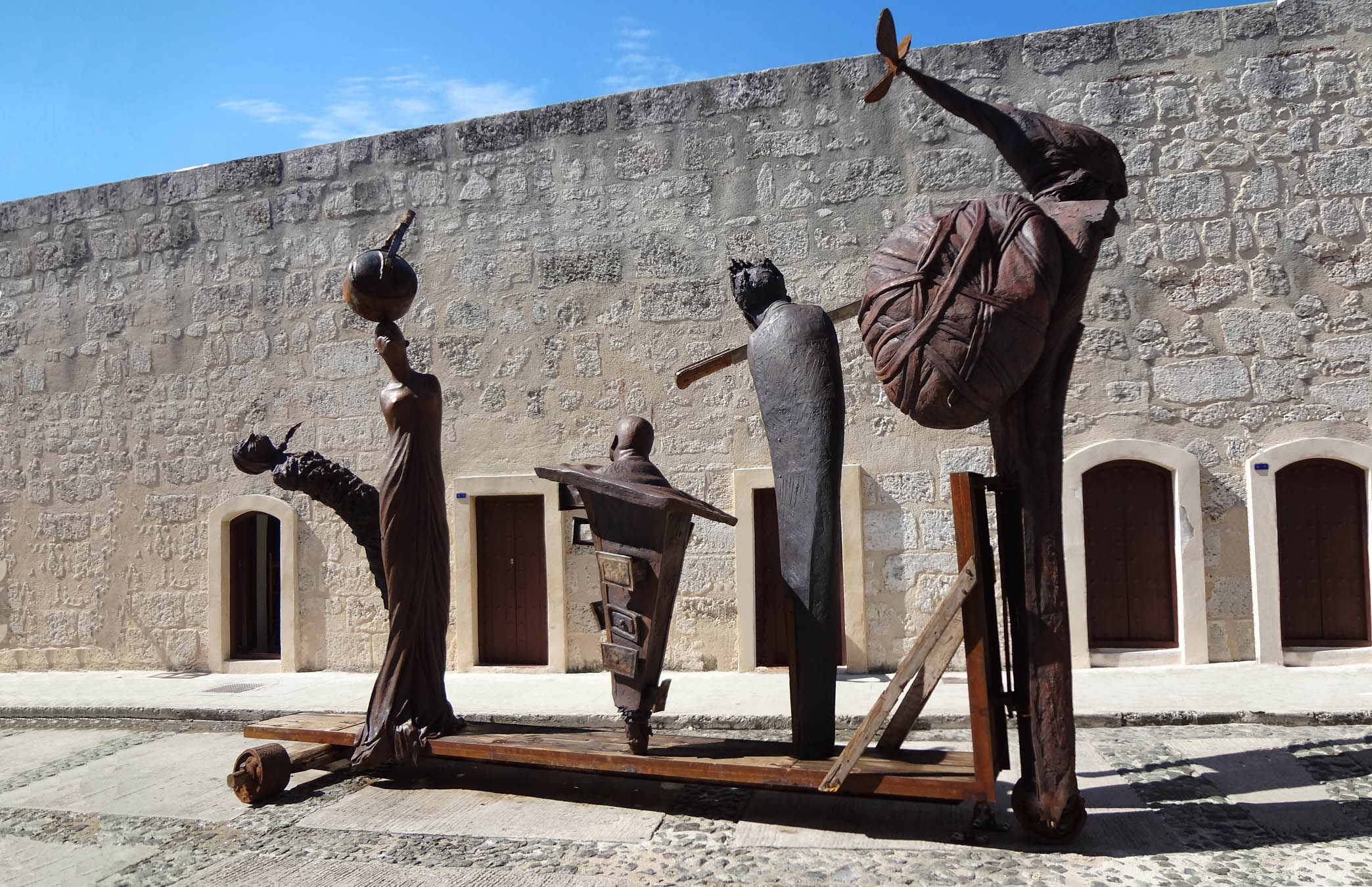 La comparsa. 11th Havana Biennial