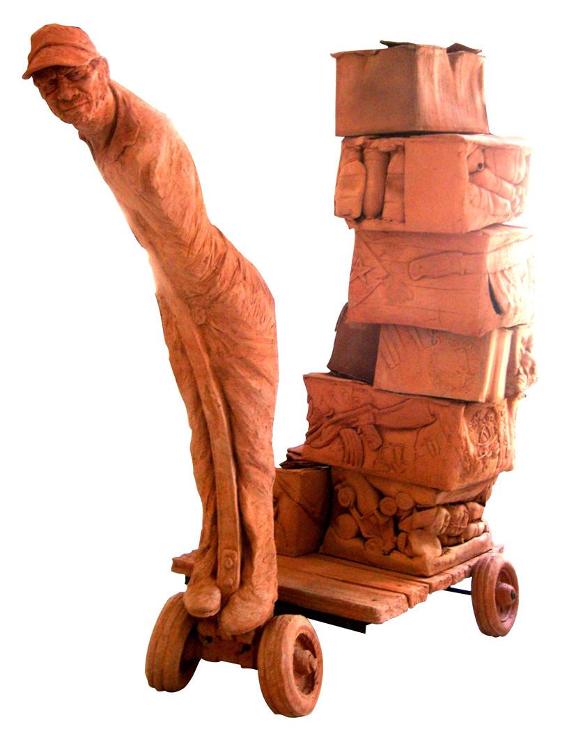 """Imagen de un destino. Osmany Betancourt """"Lolo"""". Special Prize IX Biennial of Ceramics Amelia Peláez, 2008.jpg"""