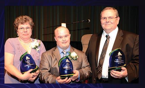 Kim Kruer, Andrew Ganote, & Dr. Joseph A. Fleck, DDS