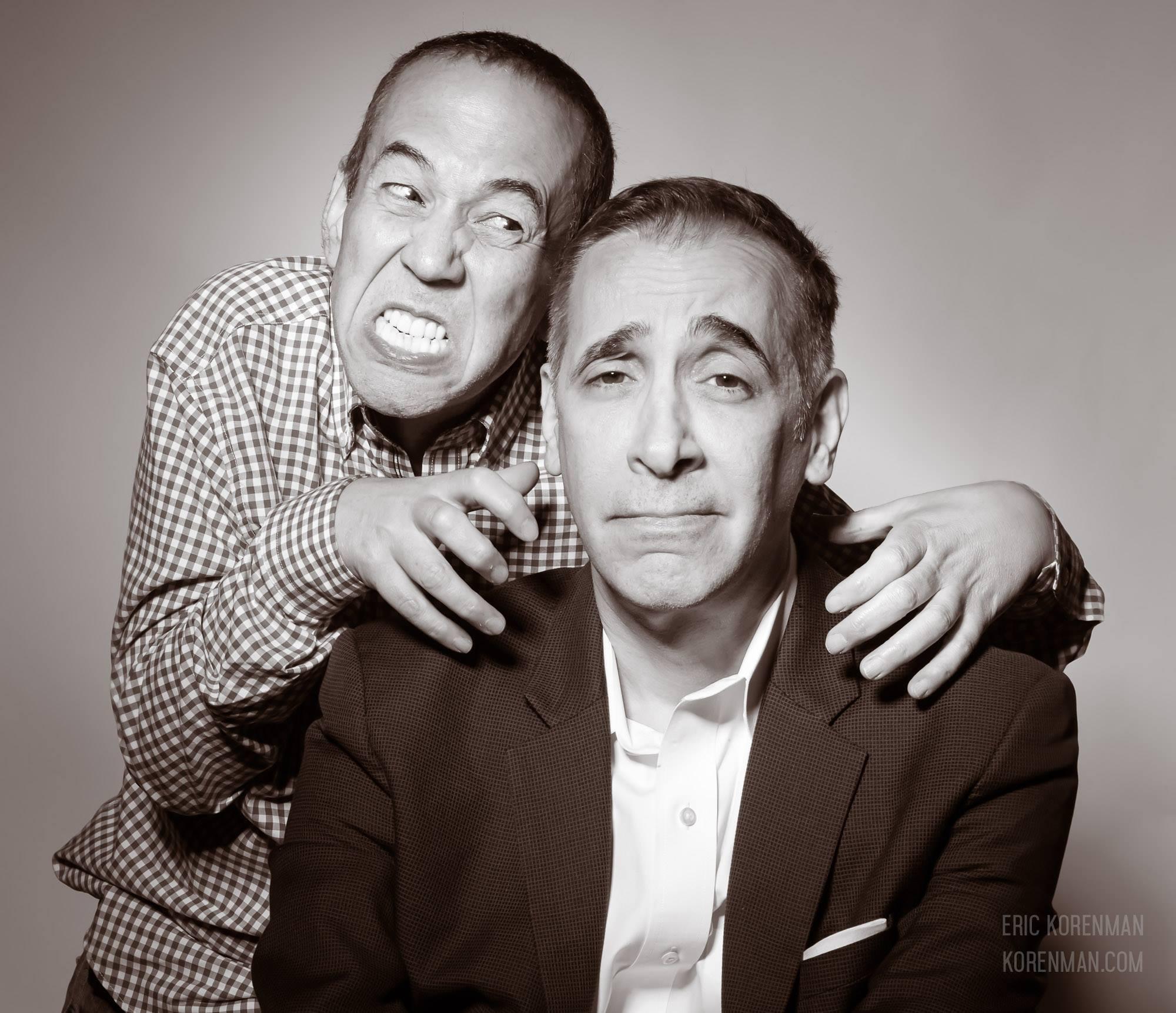 Gilbert Gottfried & Frank Santopadre