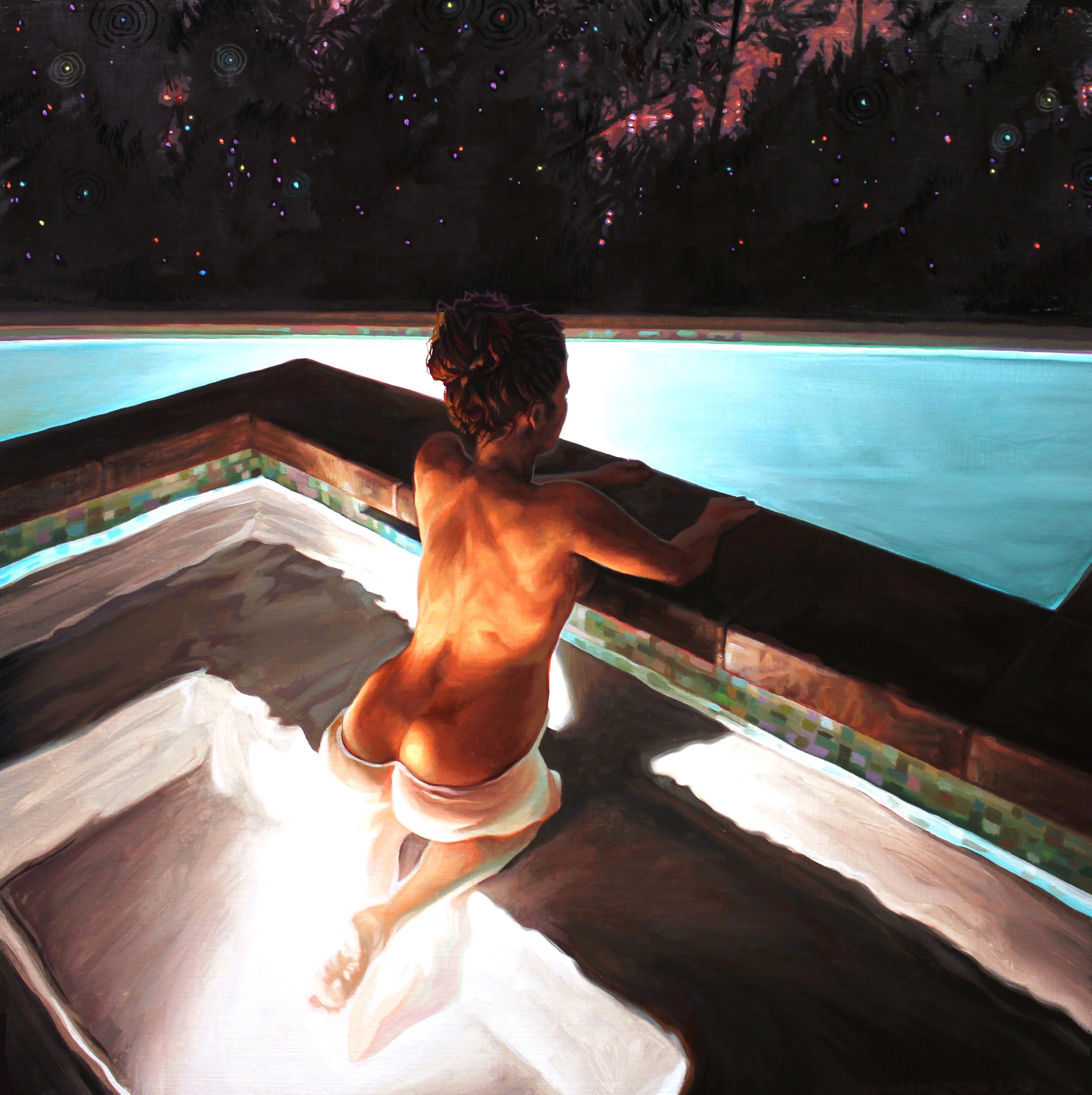 Untitled Pool Painting
