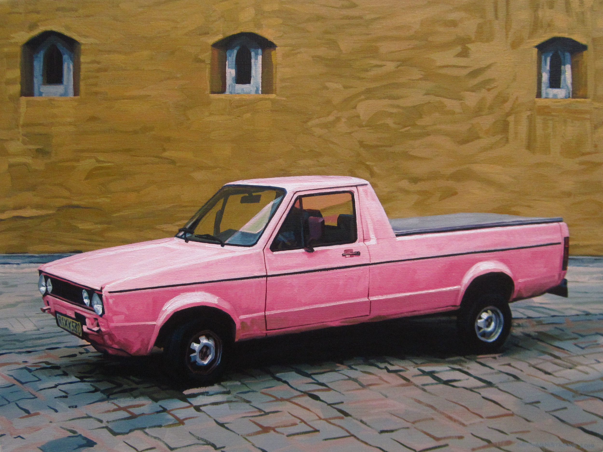 The Little Pink Truck