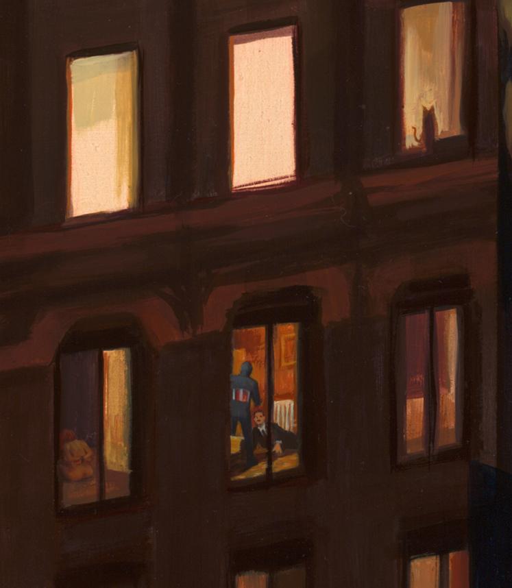 """Detail, """"Lovin' Thy Neighbor"""""""