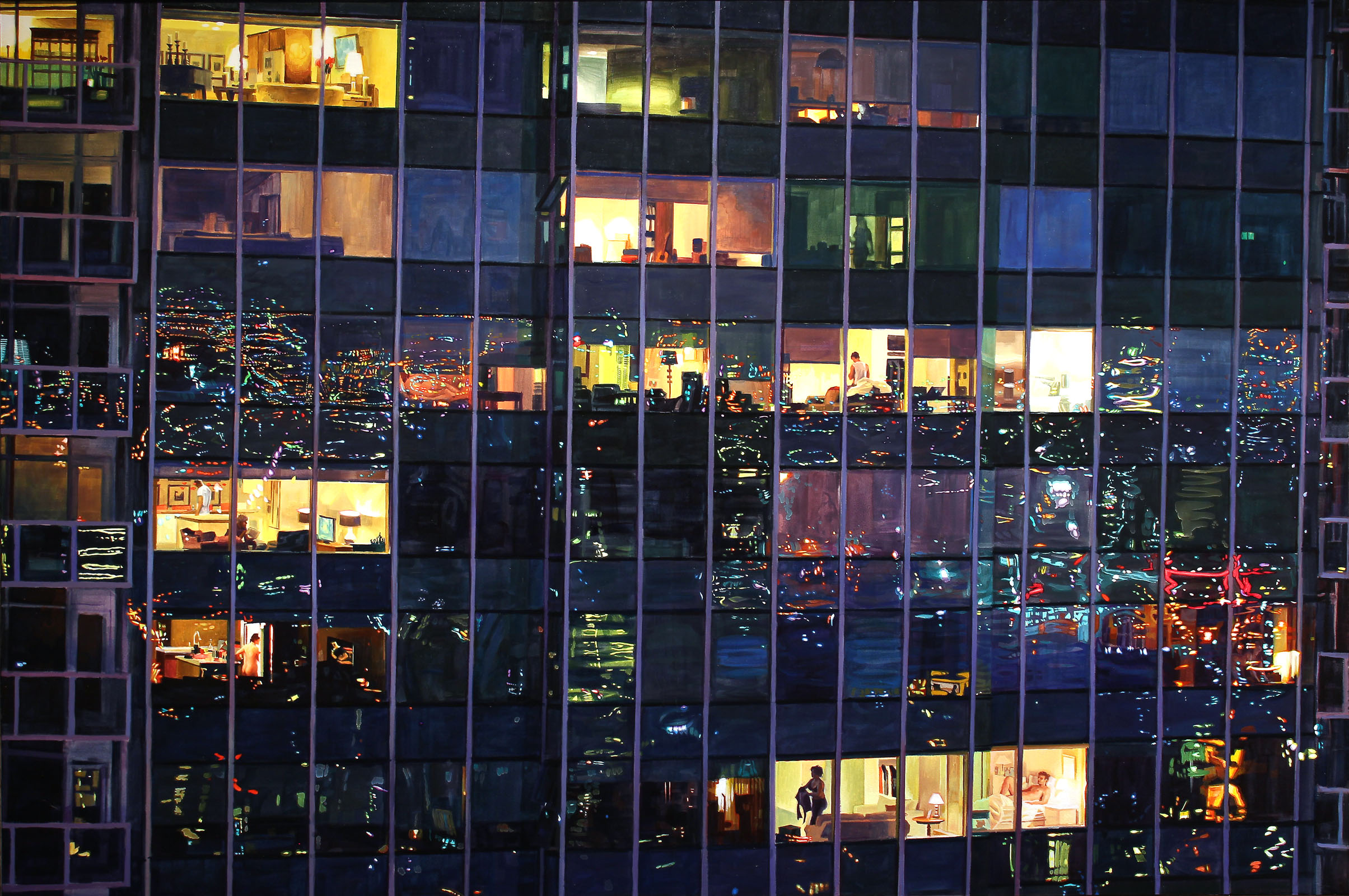 Dusk From the 27th Floor