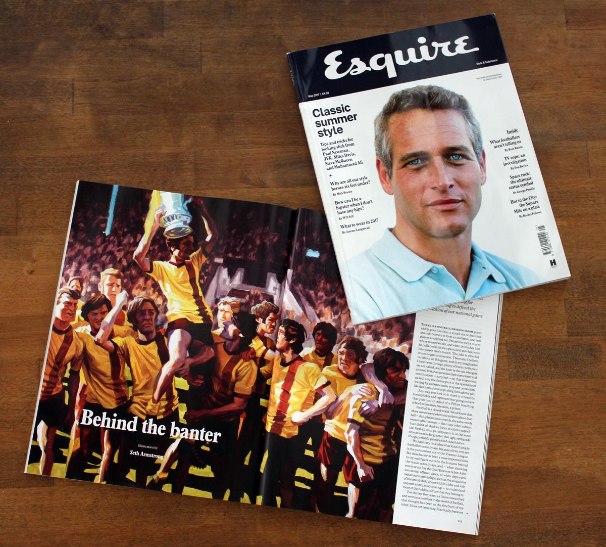 Client:  Esquire Magazine UK