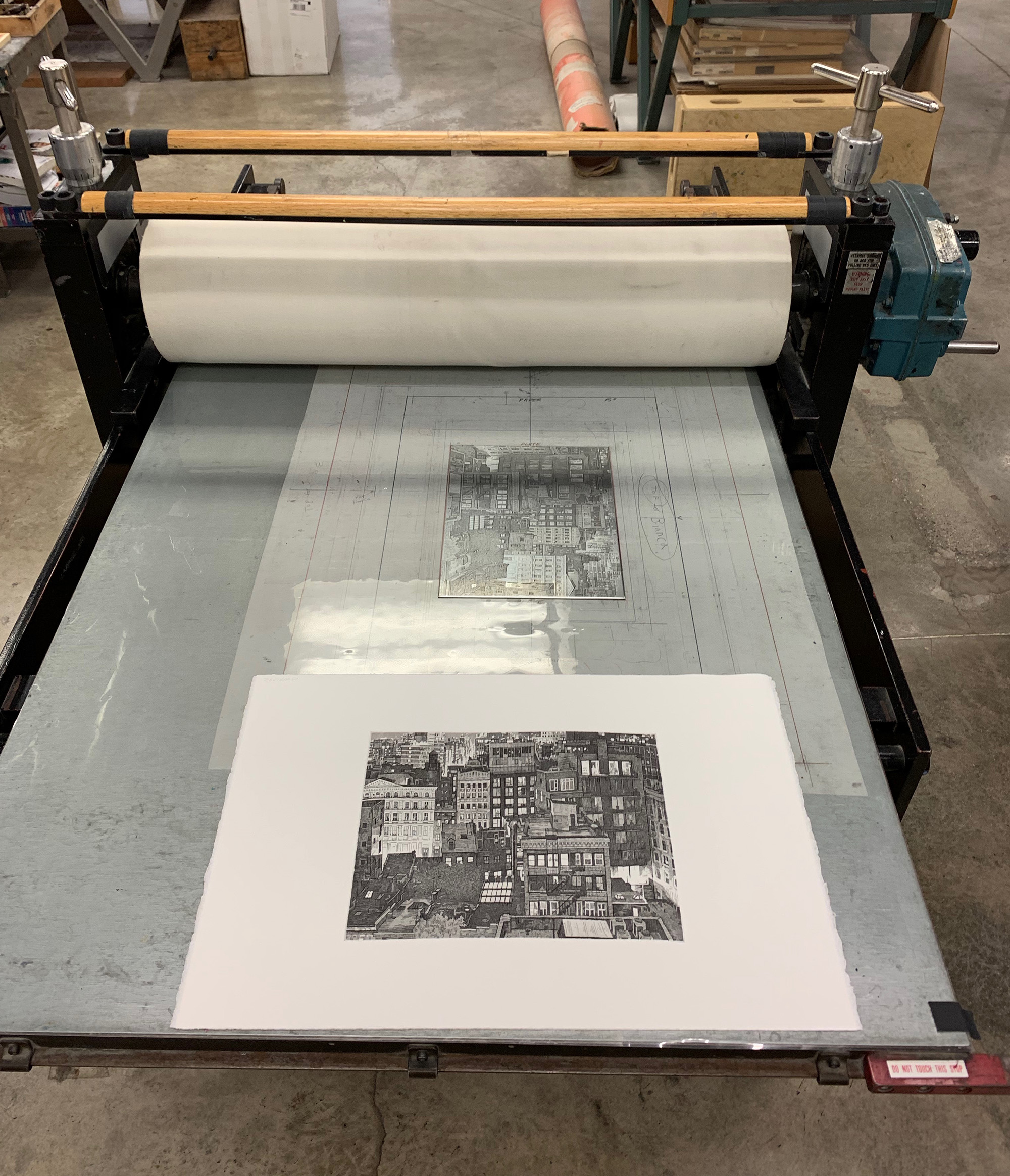 Print that bad boy on a big ol' press.