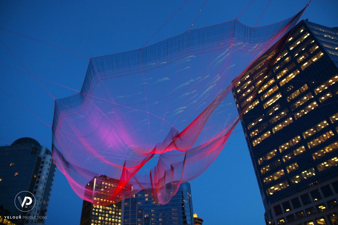TED 2014 Vancouver Janet Echelman Aaron Koblin